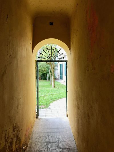 Architecture Arch Built Structure The Way Forward Direction Building Day Indoors  Wall - Building Feature Corridor Entrance No People Flooring Wall Empty