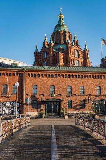 Finland EyeEm Selects Architecture Built Structure Building Exterior Sky Travel Destinations Clear Sky Building City History Travel
