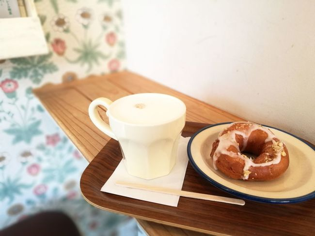 cozy winter cafe time Dounuts Dounut Time!!! Cafe Cafe Time Drink Food And Drink Indoors  Drinking Glass No People Latte Day Frothy Drink Close-up Sweet Food Ready-to-eat