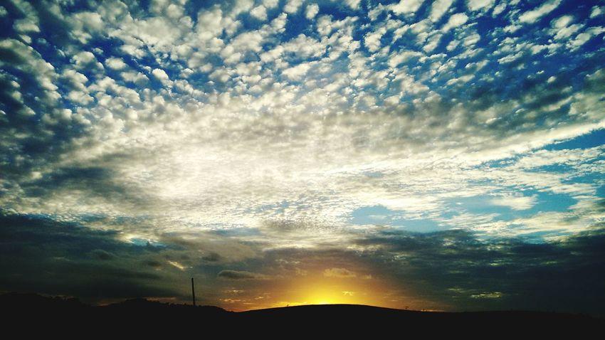 Céus E Nuvens Pôr Do Sol 🌅