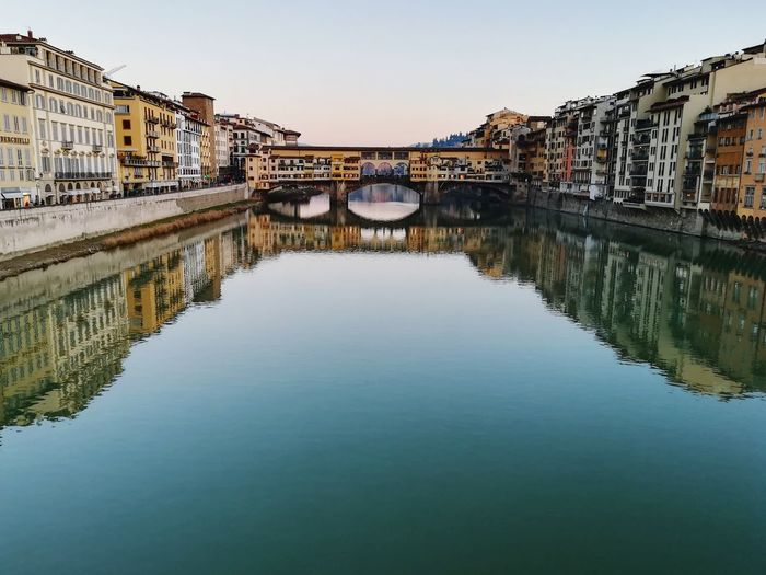 River arno - ponte vecchio florence
