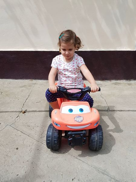 EyeEm Selects Childhood Children Only Child Fun One Person Summer Vacations Smiling Children Photography Children Playing Kid Playing Kid Kids Girls Kids Of EyeEm Childrens Girl Driving Drivingshots Driving In My Car Driving Car Toy Toys