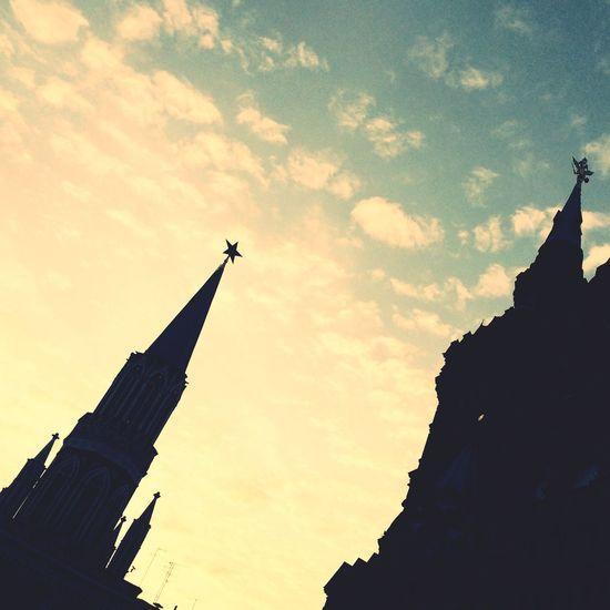 Kremlin Le Contre Jour Sky Etoile