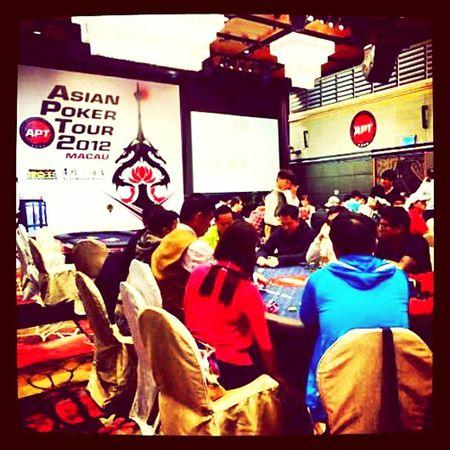 APT Macau 2012 Poker Macau Daily Grind  Starworld Apt Cotai Teambovada Pokerlife