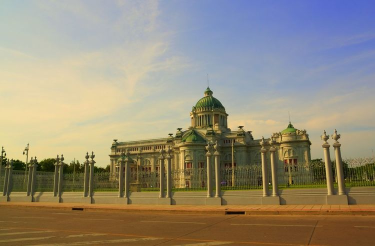 ananda samakhom throne hall bangkok Thailand Ananda Samakhom Throne Hall Ancient Architecture Bangkok Building Day Dome History Landmark Neo Classical Architechture Neo Renaissance Old Outdoors Royal Sky Thai Thailand Tourism