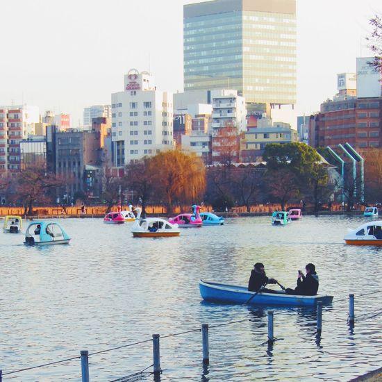 どんなに広角でも画面いっぱいだろな。 恋人たち Tokyo Street Photography Tokyo,Japan Ueno Park Park No Standard World Boat Streetphotography Architecture Built Structure Building Exterior City Nautical Vessel