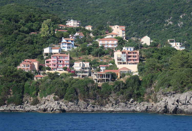 View Of Townscape By Sea