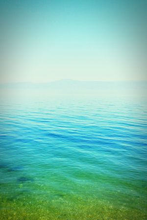 Sea Turquoise Mountains Life In Colors Blue Slient
