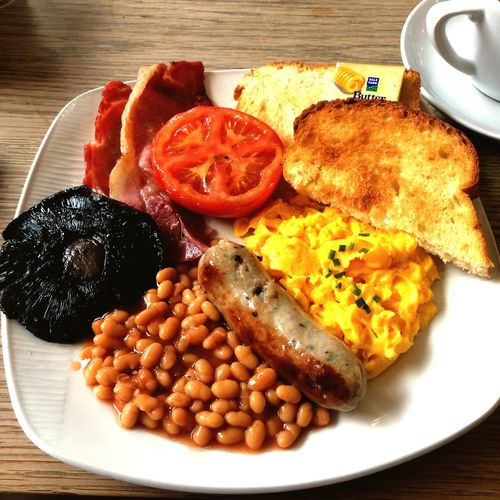 My Favorite Breakfast Moment english breakfast but i dont like beans that much