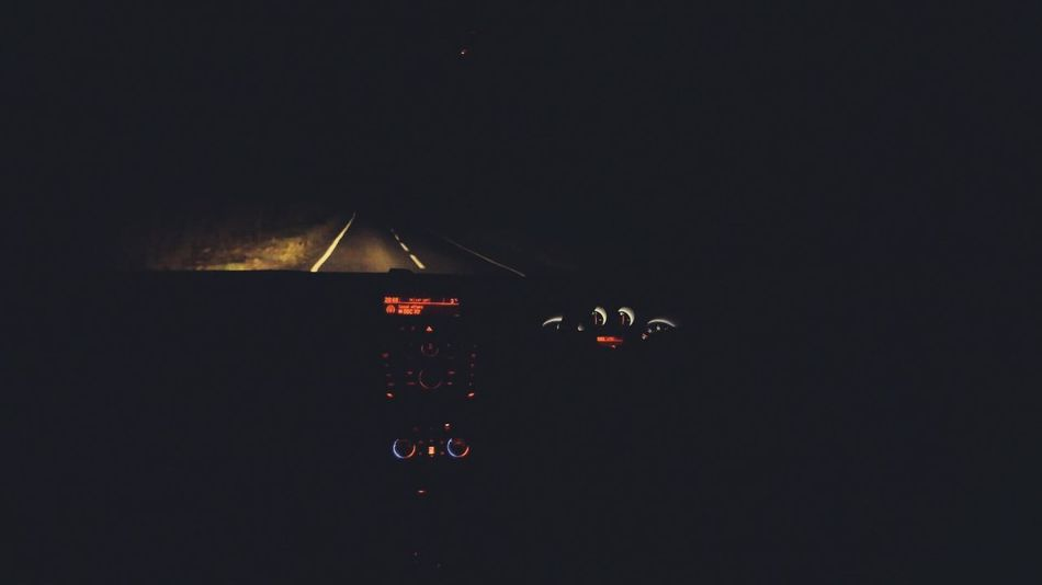 Driving at night Night Car Drive Driving Dark Outdoors Black Neonlights
