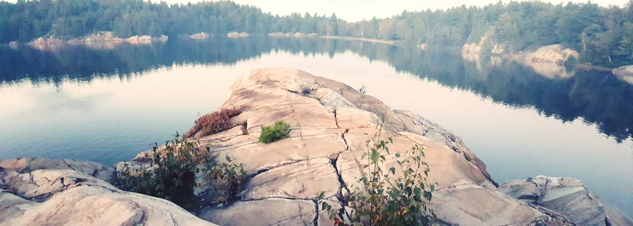 EyeEm Selects Travel Destinations Nature Rock - Object No People Beauty In Nature Landscape Photography Killarney National Park Lake Ontario, Canada Reflection Tranquility