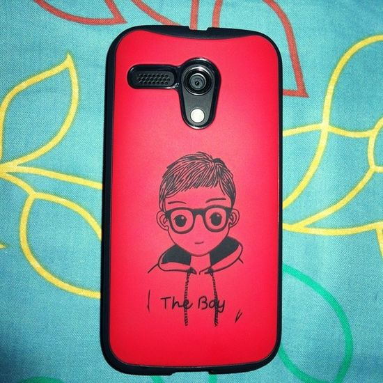 New Safeguard for my Motog . Cute Handsome Lovely Amazing Admirable TheBoy