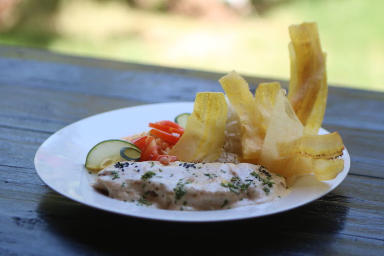 Pollo a la Parmesana... Appetizer Plate Gourmet Savory Food Seafood Close-up Food And Drink Fillet