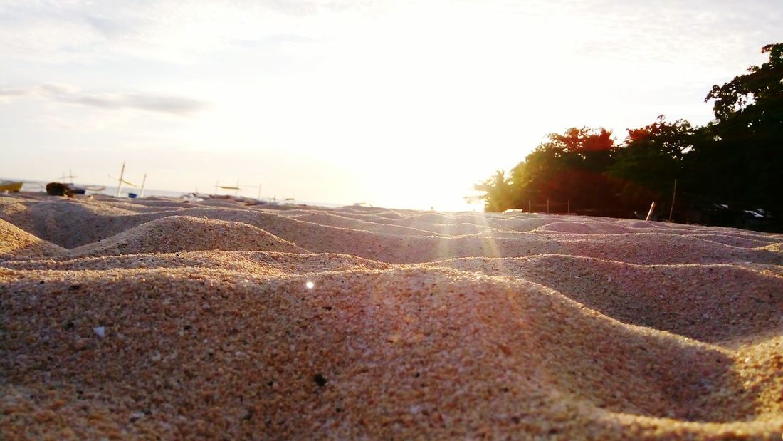 White sand and sunsets Mobilephotography Selinog Island DapitanCity Phillipines Boat Island Life Whitesand Sunsets Sky Close-up