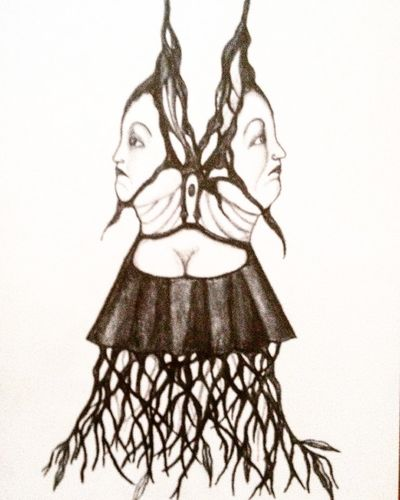 Surrealism Scetch Scetching Teckning Blyerts Pencil Art Konst