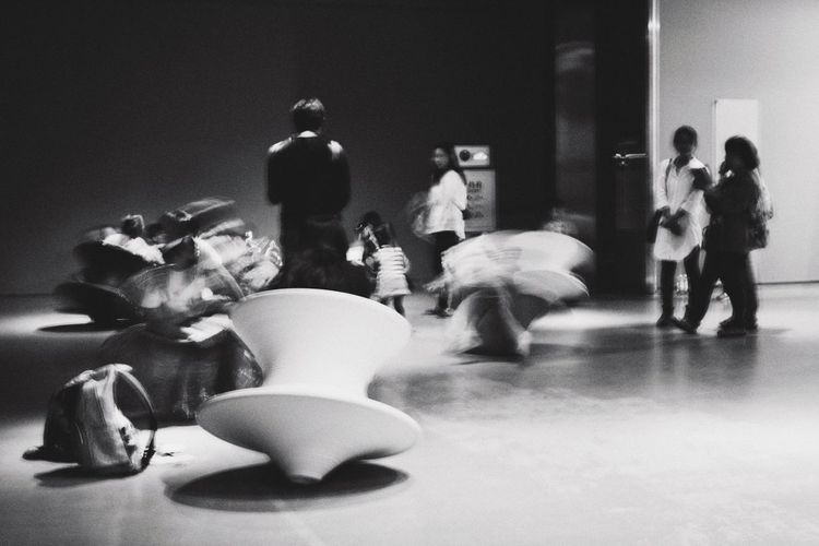 Exhibition Taipei City Museum Taiwan Space Playground Heatherwick Monochrome