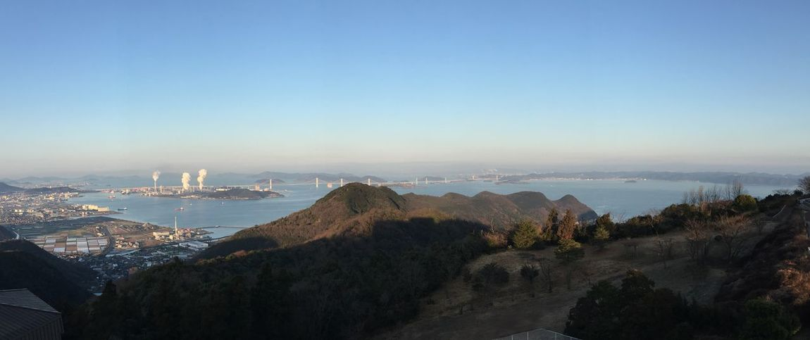 Sea And Sky Skyporn Sky_collection Mountains Islands Landscape Bridge 瀬戸大橋 Panorama Panoramic Photography Enjoying The View