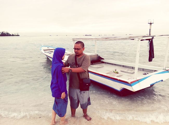 Beach Island Vacation Couple My Beloved