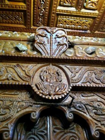 Amazing craftmanship.. Ornate Art And Craft Design Pattern No People Close-up Indoors  Architecture Full Frame Day Low Angle View God Low Angle View Ganesha GaneshChaturthi Original God EyeEm Selects EyeEmNewHere