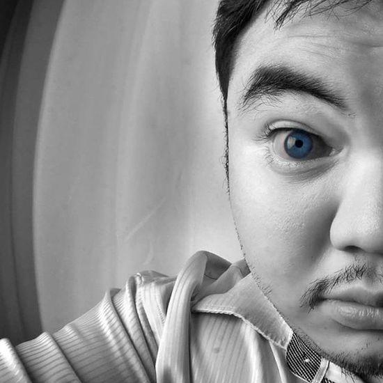 Truth is .. Infrared Photographer Infraredphoto Irphoto Effect BlueEyes Blackandwhite Selfie Fisheye