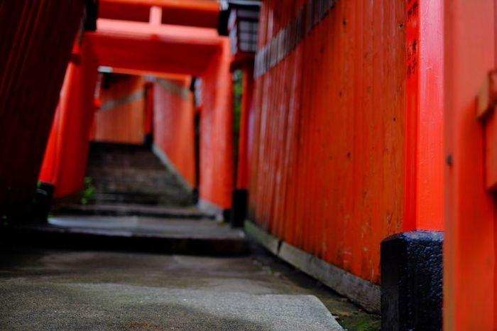 Red The Purist (no Edit, No Filter) Shrine Fuji X-M1
