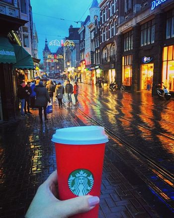 What's a rainy day without some delicious coffee??😊😊☕️Chestnutlatte Goodday Lovecoffee Citylights