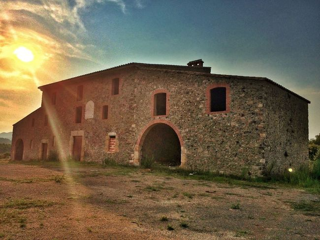 Farm Old House Arquitecture Countryside