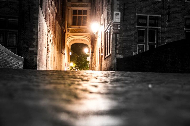 Brugge Illuminated Architecture Night Belgium Travelphotography Travel Destinations Canonphotography Canon7d  Nocturna Nocturne Built Structure No People Outdoors City Adventures In The City