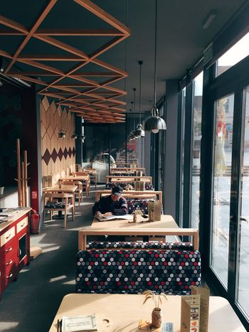 Architecture Arrangement Artist Cafe Design Food And Drink Indoors  Men Person Restaurant Small Business Window