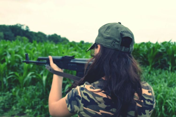 Love<3 Sniper Rifle  Inlove ♡ Camouflage Country Girl