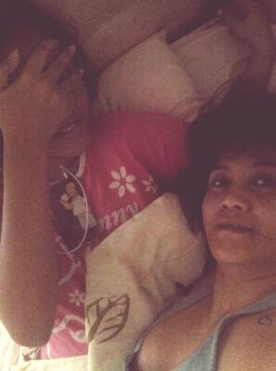 our morning 😉 Hello World Morningselfie Lovelovelove Daughterlove Wake Up! GoodMorningg ♥ MorningSmile❤🌞🌞🌞 Saturdaymorning Bonding