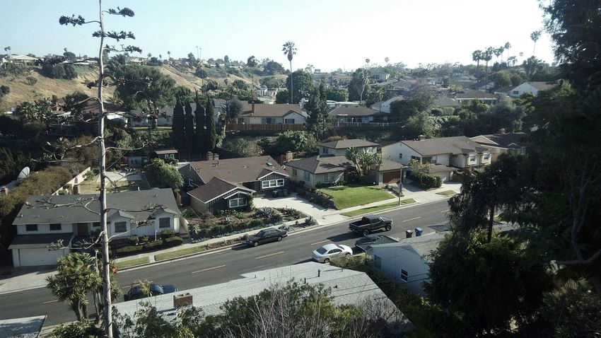 From My Doorstep Los Angeles, California Viewpoint View Landscape
