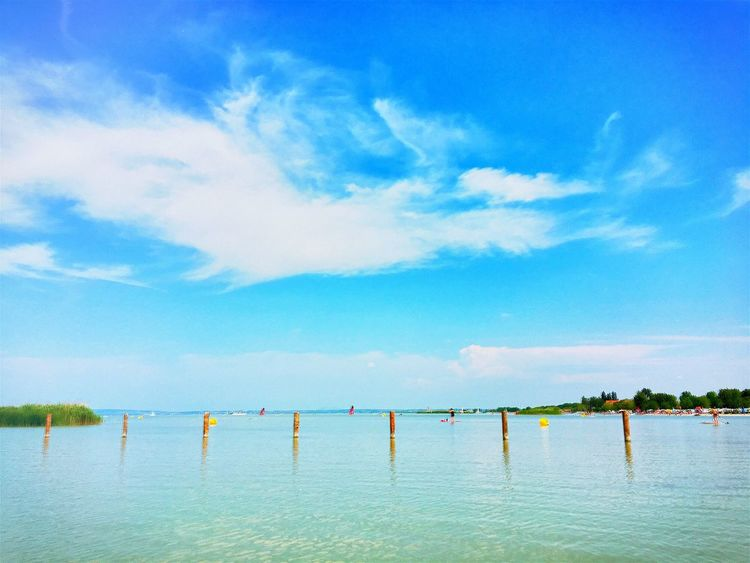 Water Blue Tranquil Scene Sky Tranquility Scenics Calm Waterfront Cloud Nature Sea Ocean Cloud - Sky Majestic Vacations Day Non-urban Scene Solitude Tourism