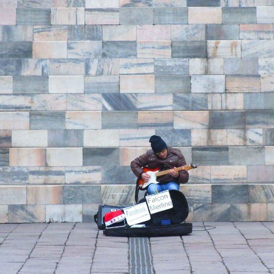 Guitarist Guitar Guitarist Man Streetphotography Street Photography Public Art Guitar Love Guitar Player Marble Background In The City Art Music Musical Instrument Music Brings Us Together Musician Milano Milan,Italy Italy Italy❤️