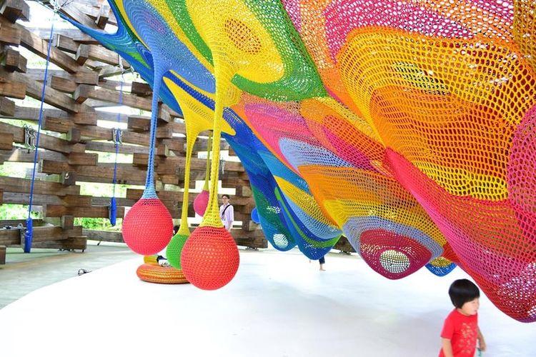 アスレチック Athletics 箱根 Hakone 彫刻の森美術館 Kids Singlefocus 単焦点 単焦点レンズ
