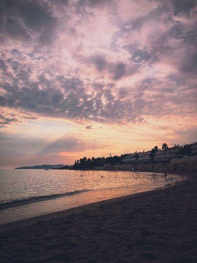 Sunset at El