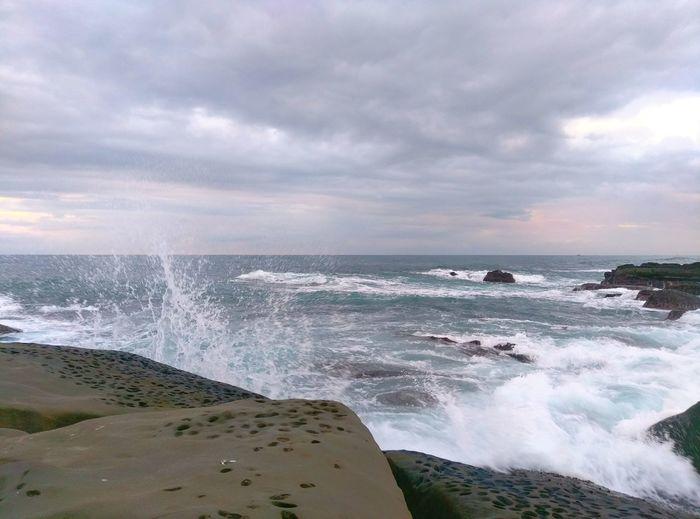 Sea Wave Nature Spray Taitung Sunrise🌊🌊🌊