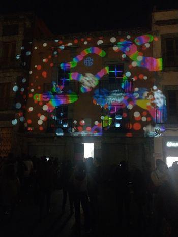 Night Street Illuminated Filux Mexico 2017