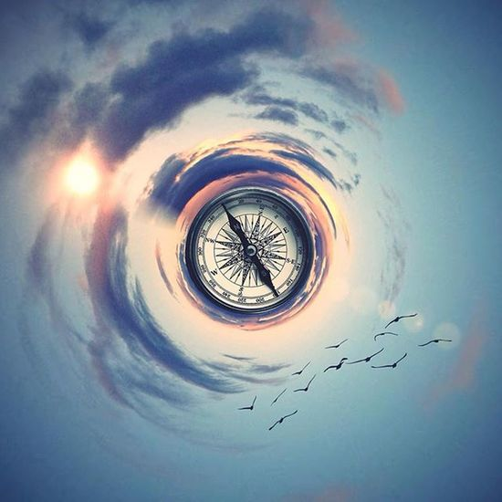 You have a brain in your head, feet in your shoes, you can steer yourself in any direction you choose. - Dr. Seuss Clouds Circular Compass Direction Inspiration Drseuss Sunset Sky