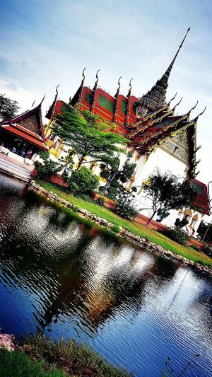 The Ancient City Reflections In The Water Reflections The Ancient City Thailand Travel Photography Travelgram Amazing Place My Capture  Thailandtravel Reflections And Shadows Praceful Bangkok Thailand Palace Replica  Land Of Smiles Amazing Nature Architecture Lake EyeEm Thailand The Week Of Eyeem Fresh On Eyeem  Showcase June