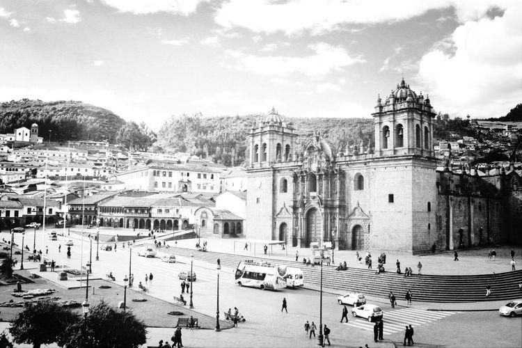Plaza de Armas Church Traveling