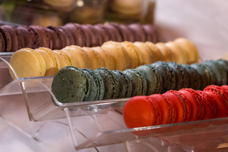 Macaroon Macarons Macaroons Snack Sugar Assortment Bakery Biscuit Close-up Colorful Confectionery Cream Dessert Food Food And Drink French Freshness Indoors  Indulgence No People Ready-to-eat Still Life Sweet Sweet Food Temptation Food Stories