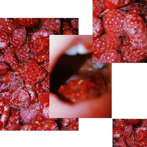 The Creative - 2018 EyeEm Awards Red Multiple Image Photograph Variation Digital Composite Collage Close-up Montage Berry Fruit Raspberry