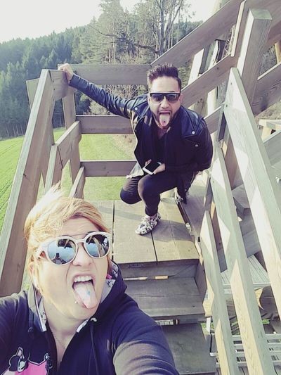 Sunglasses Lifestyles Enjoying The Sun Friends ❤ Italian First Eyeem Photo