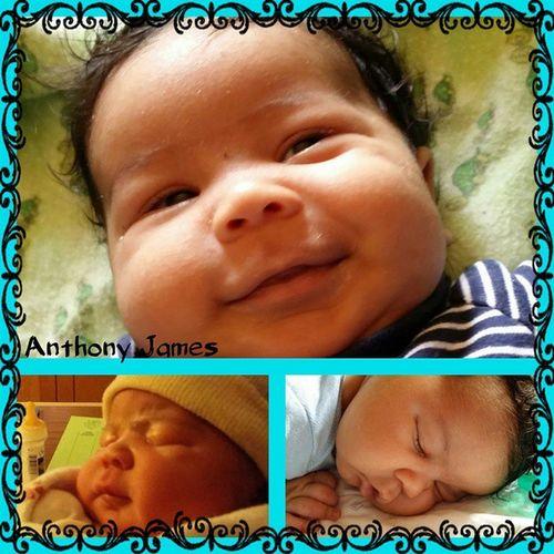 AnthonyJames 2monthsold MyLittleChocolateDrop TimeIsFlying ProudGrantie