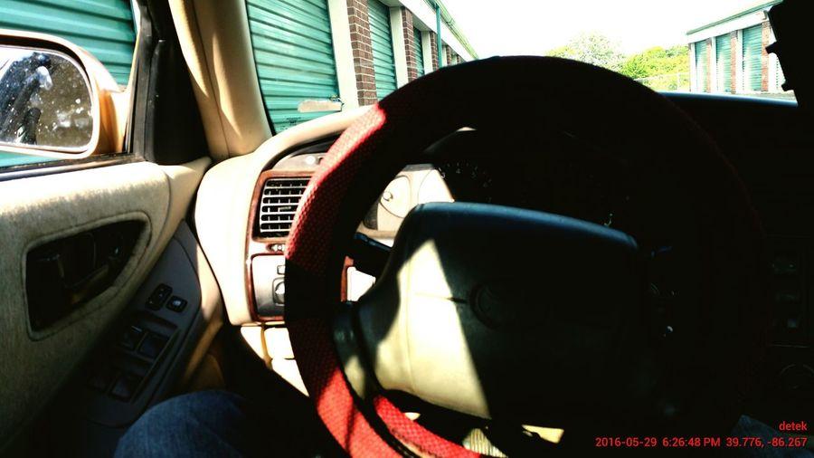 95% of my time spent in this seat. Driver Detek wheelman