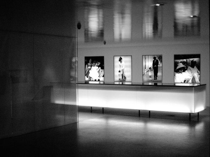 The (former) Kennedys - Jacky & JFK EyeEm Best Shots Mission Vision Berlin Kennedy Jacky JFK Blackandwhite Museum Interior Design Indoors  Reflection Illuminated No People Architecture