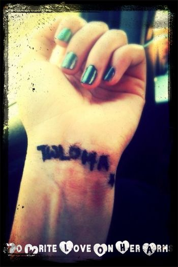 To Write Love On Her Arms Twloha Angels Love