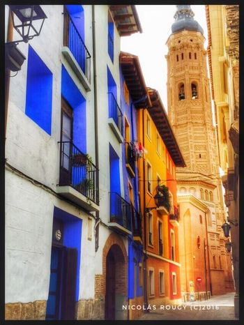 Architecture Building Exterior Built Structure Travel Destinations City Balcony Outdoors Sky No People Day SPAIN