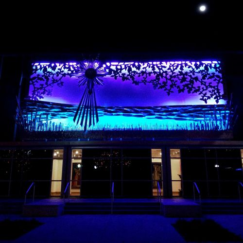 Felix Navidad! Incarnate Word University Christmas Display My City At Night Learn & Shoot: After Dark